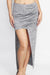 Space Dye Grey Skirt
