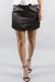 Jacquard Bronze Mini Skirt