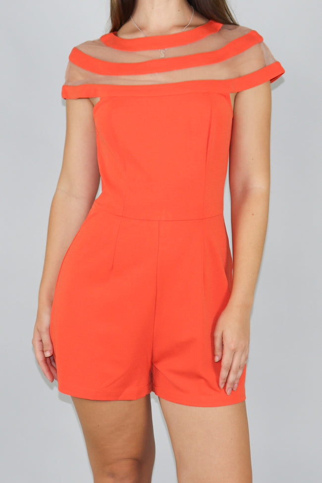 Word On The Street Playsuit