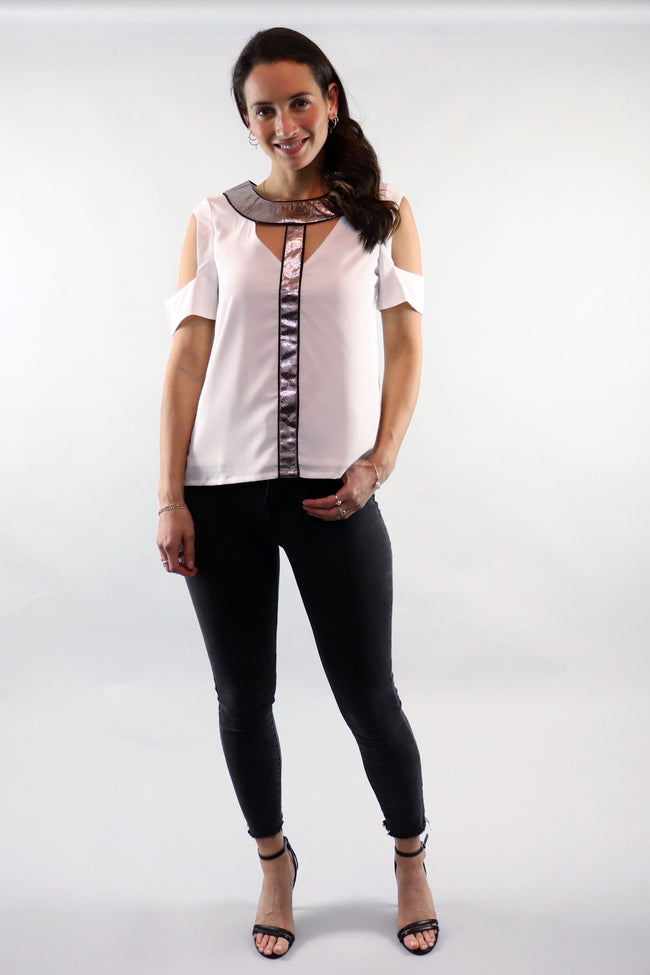 Serpent Siren White Top