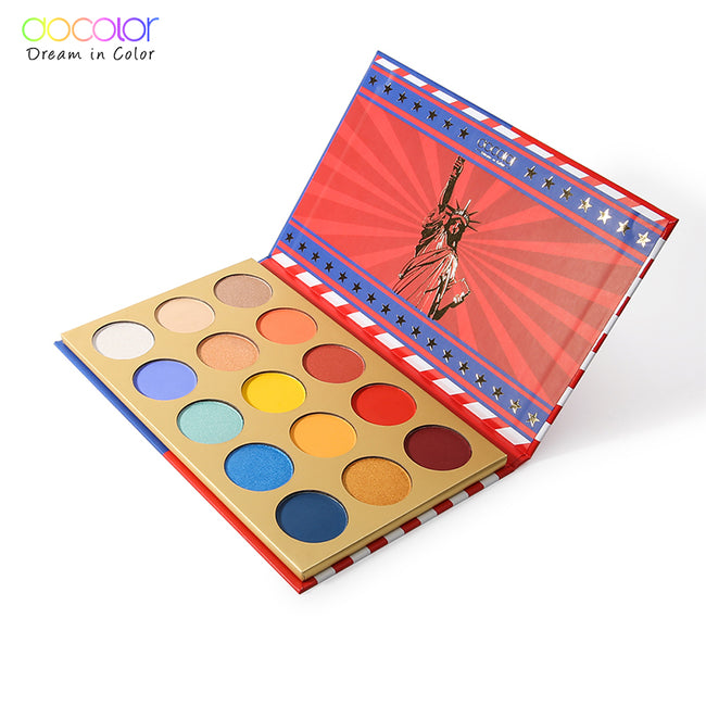 Docolor 15 Colors Shimmer Matte Eye Shadow Waterproof Makeup Palette Set Nude Natural Eyshadow Glitter Pigment Beauty Cosmetics