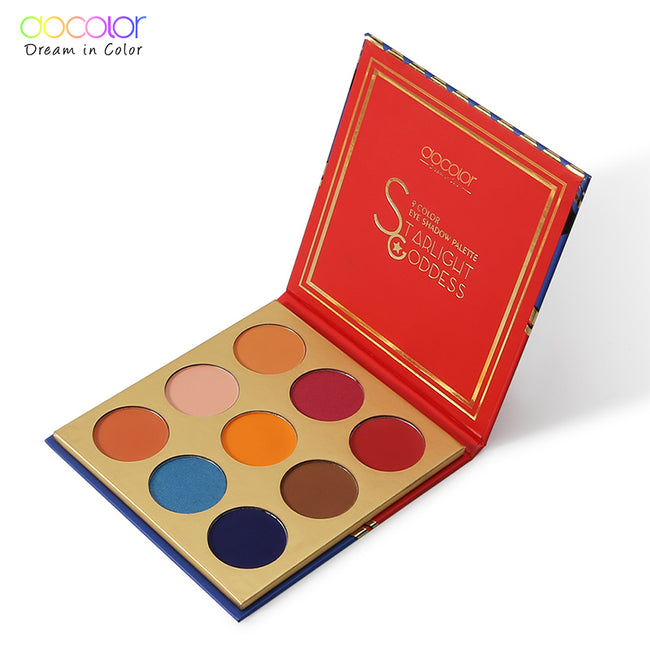 Docolor 9 Colors Nude Eyeshadow Powder Makeup Palette Matte Shimmer Eye Pigmented Powder Make Up New  Eyeshadow