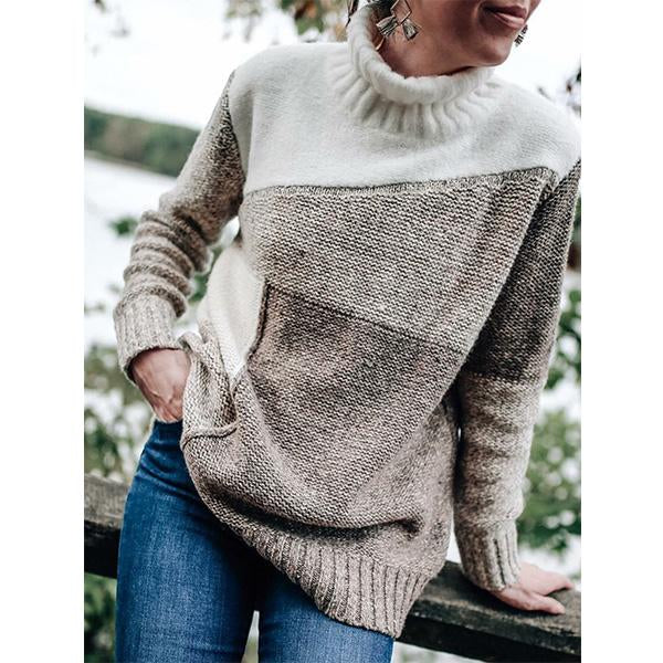 Winter New Turtleneck Loose Sweater