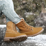 Women Warm Outdoor Hiking Boots