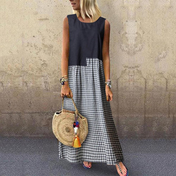 Fashion Summer Printed Dress