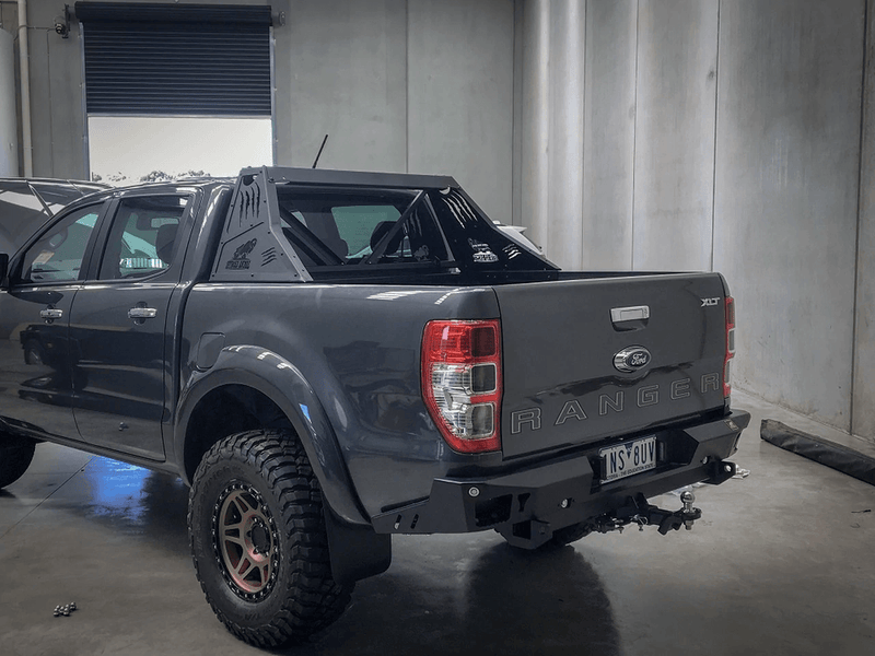Rear Bumper and Tow Bar, Ford Ranger PX 2011-on, Mazda BT50- 2011- on