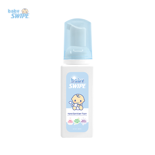 Hand Sanitizer Foam 80ml | babySWIPE Singapore