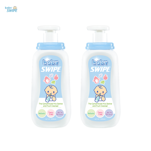 The Concentrate Milk Bottle and Fruit Cleanser 650ml - Twin Pack