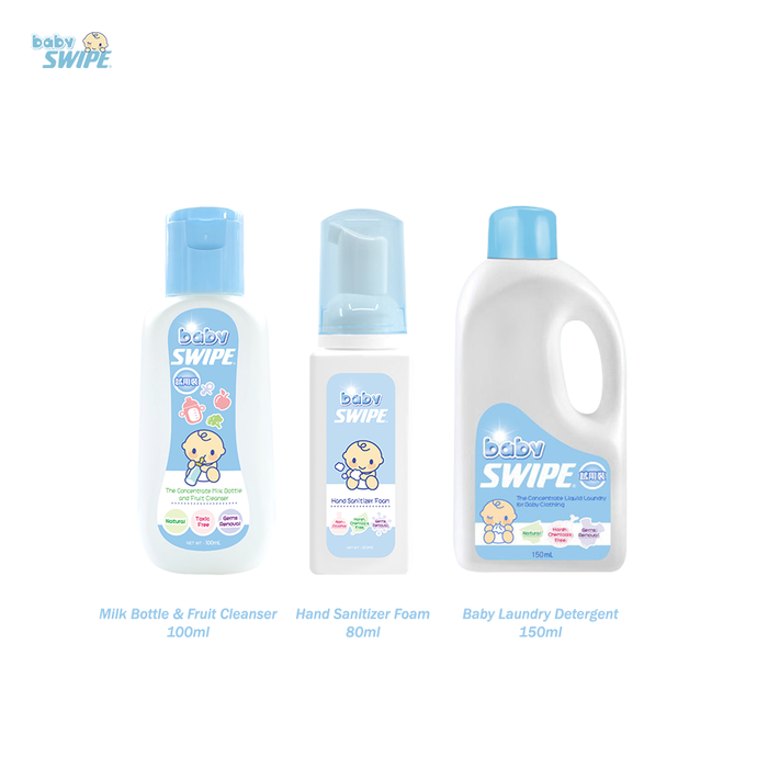 babySWIPE Travel Bundle (3 pc set)