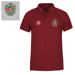AUCC: Gray-Nicolls Matrix Maroon Polo Shirt