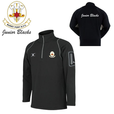 Burry Port RFC Junior Blacks: Gilbert Micro Fleece