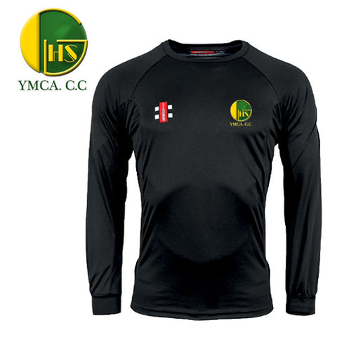 Bristol YMCA CC: Gray-Nicolls Matrix Long Sleeve Tee