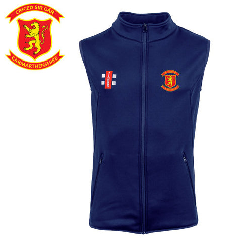 Criced Sir Gar CC: Gray-Nicolls Storm Fleece Body Warmer