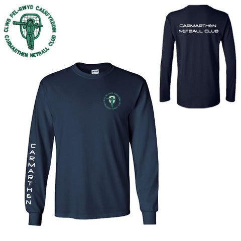 Carmarthen Netball: Long Sleeve T-shirt