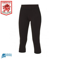 Coedcae: Girls PE 3/4 Leggings