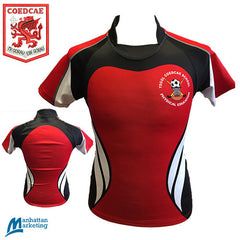 Coedcae: Rugby Jersey