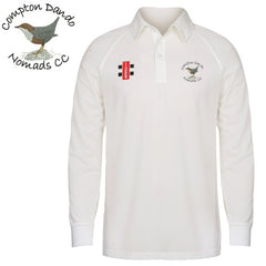 Compton Dando Nomads CC: Gray-Nicolls Matrix Long Sleeve Playing Shirt