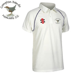 Compton Dando Nomads CC: Gray-Nicolls Matrix Short Sleeve Playing Shirt