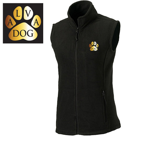 ALVA DOG: Ladies Fleece Gilet