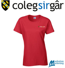 CSG Travel & Tourism: FEMALE Cotton Tee