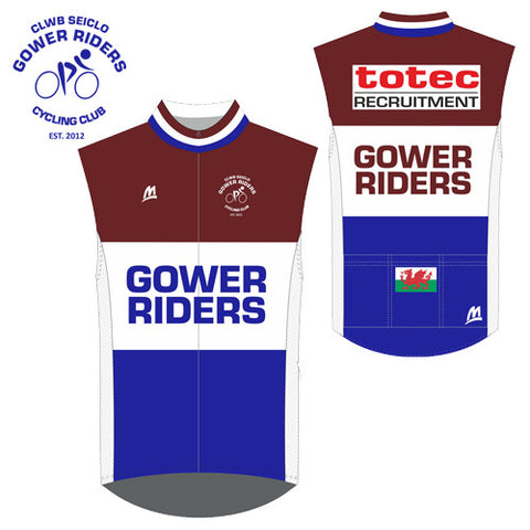 Gower Riders: JUNIOR Team Gilet