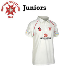 Redcliffe CC: JUNIOR Gray-Nicolls Matrix Short Sleeve Playing Shirt