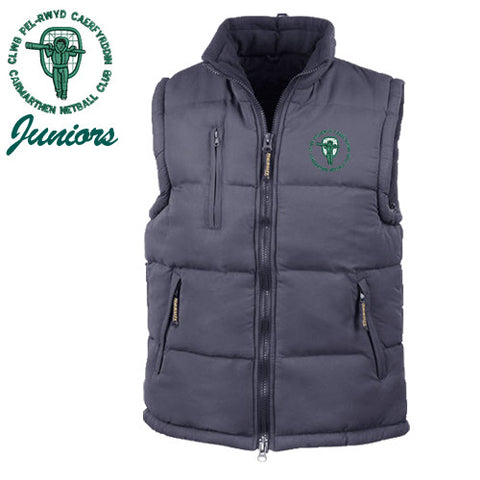 Carmarthen JUNIOR Netball: Padded Gilet