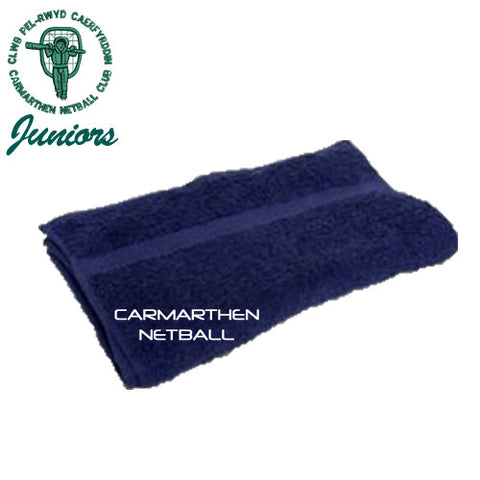 Carmarthen JUNIOR Netball: Training Hand Towel