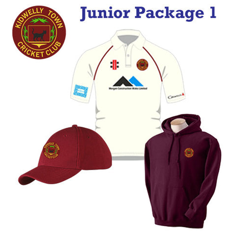 Kidwelly Town CC JUNIOR - Package 1