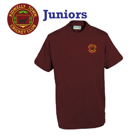 Kidwelly Town CC: JUNIOR Performance Tee