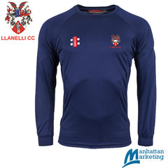 Llanelli CC: Gray-Nicolls Matrix Long Sleeve Tee