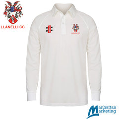 Llanelli CC: Gray-Nicolls Matrix Long Sleeve Playing Shirt