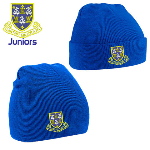 Llantwit Major AFC Juniors: Beanie and Turn-over Beanie