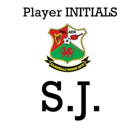 Llanelli Town AFC: Player INITIALS