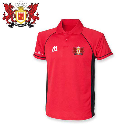 Llangennech RFC: Red Performance Polo