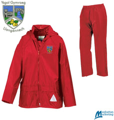 Ysgol Llangennech: Waterproof Jacket & Trouser Suit