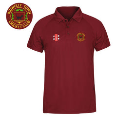Kidwelly Town CC: Gray-Nicolls Matrix Burgundy Polo Shirt