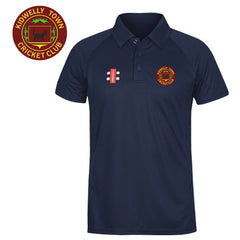 Kidwelly Town CC: Gray-Nicolls Navy Polo Shirt