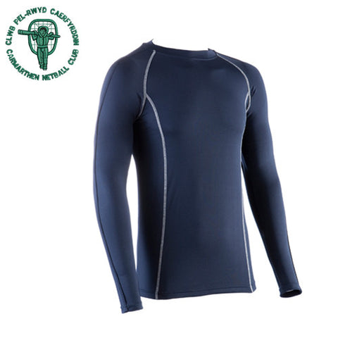 Carmarthen Netball: Performance Long Sleeve Base Layer