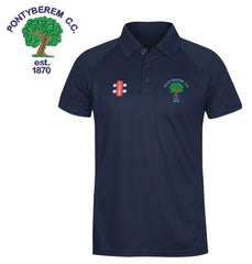 Pontyberem CC: Gray-Nicolls Matrix Polo Shirt