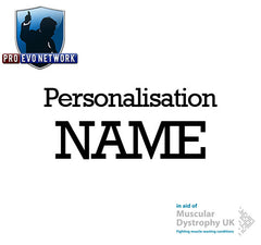 PRO Evo Network: Personalisation NAME