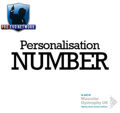PRO Evo Network: Personalisation NUMBER