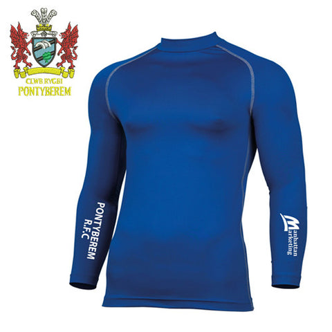 Pontyberem RFC: Performance Long Sleeve Base Layer