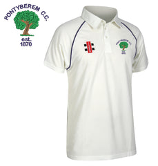 Pontyberem CC: Gray-Nicolls Matrix Short Sleeve Playing Shirt