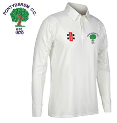 Pontyberem CC: Gray-Nicolls Matrix Long Sleeve Playing Shirt