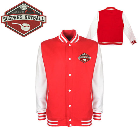 Sospans JUNIOR Netball: Varsity Jacket