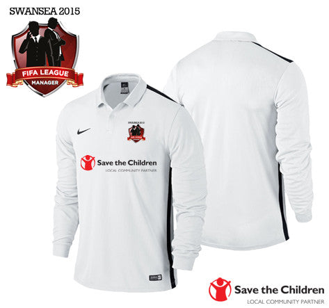 FIFA League Manager SWANSEA 2015 - Save The Children: Nike Challenge LS Jersey
