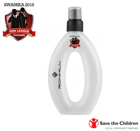 FIFA League Manager SWANSEA 2015 - Save The Children: Wrist Water Bottle