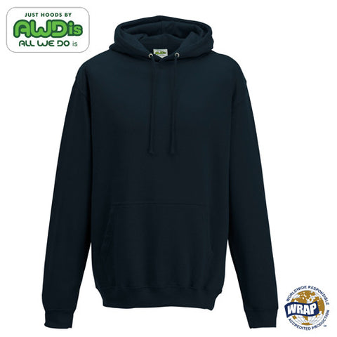 AWDis College Hoodie: NEW FRENCH NAVY