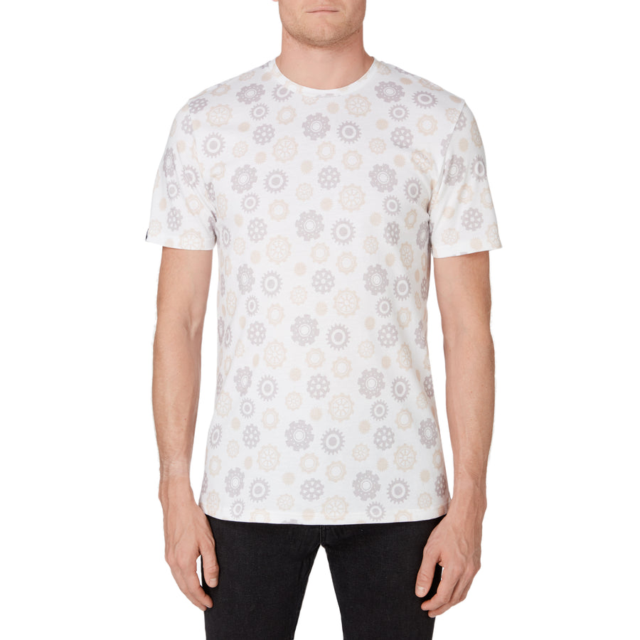 A Clockwork Orange, White, All-Over Pattern, Men's T-Shirt, with Stanley Kubrick Collector's Box